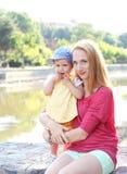 Retrato ao ar livre da família Foto de Stock