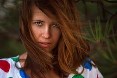 Retrato ao ar livre da menina imagem de stock royalty free