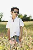 Retrato ao ar livre da mola/verão Imagens de Stock