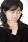 Retrato asiático 2 Fotografia de Stock Royalty Free