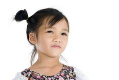 Retrato asiático bonito da menina fotos de stock