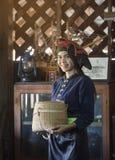 Retrato asiático bonito das mulheres imagens de stock