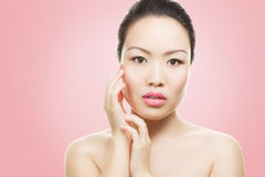 Retrato asiático da beleza Imagem de Stock Royalty Free