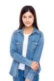 Retrato asiático da jovem mulher Imagem de Stock Royalty Free