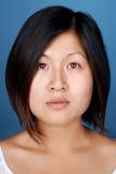 Retrato asiático da mulher imagens de stock