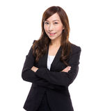 Retrato asiático da mulher de negócios Fotos de Stock Royalty Free