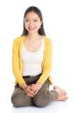 Retrato asiático da rapariga Fotos de Stock Royalty Free