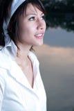 Retrato asiático de la muchacha Fotos de archivo libres de regalías