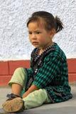 Retrato asiático de la muchacha Foto de archivo