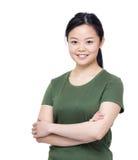 Retrato asiático de la mujer fotos de archivo libres de regalías