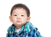 Retrato asiático del bebé Imagen de archivo