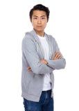 Retrato asiático del hombre Imagen de archivo libre de regalías