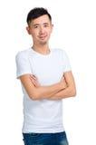 Retrato asiático do homem fotos de stock