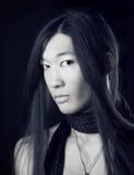 Retrato asiático do homem Foto de Stock
