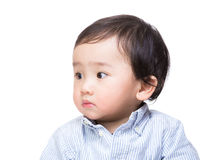 Retrato asiático do menino fotografia de stock