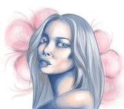 Retrato asiático novo da mulher Fotografia de Stock Royalty Free