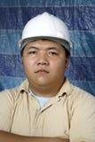 Retrato asiático sério do coordenador fotos de stock