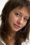 Retrato atractivo de la muchacha Imagenes de archivo
