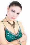 Retrato atrativo da menina imagens de stock royalty free