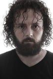Retrato barbudo del hombre Fotos de archivo