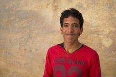 Retrato beduino del hombre joven, Petra, Jordania Foto de archivo libre de regalías