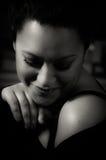Retrato de una muchacha multirracial hermosa Imágenes de archivo libres de regalías