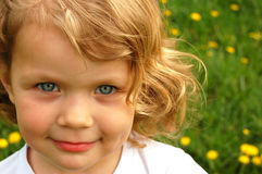 Retrato bonito da menina imagem de stock