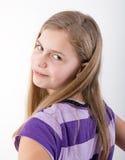 Retrato bonito da menina fotos de stock