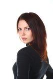 Retrato bonito da menina do Redhead fotos de stock royalty free