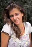 Retrato bonito da menina, sorrindo Fotografia de Stock Royalty Free