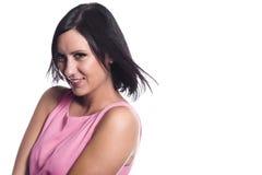 Retrato bonito da mulher nova Fotos de Stock
