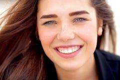 Retrato bonito da rapariga Imagem de Stock