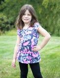 Retrato bonito de la chica joven Imagen de archivo libre de regalías