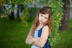 Retrato bonito de la muchacha Imagenes de archivo