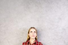 Retrato bonito de la mujer Fotos de archivo libres de regalías