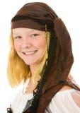 Retrato bonito del pirata fotografía de archivo libre de regalías