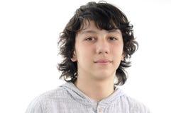 Retrato bonito do adolescente Fotografia de Stock Royalty Free