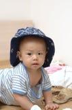 Retrato bonito do bebê Fotos de Stock Royalty Free