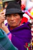 Retrato campesino Fotografía de archivo