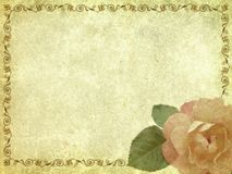 Retrato-cartão Fotografia de Stock Royalty Free