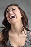 Retrato caucasiano novo bonito da mulher Imagens de Stock