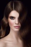 Retrato Charming da mulher Fotografia de Stock Royalty Free
