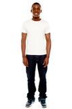Retrato cheio do comprimento do homem adulto ocasional Imagem de Stock Royalty Free