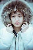 Retrato chino de la muchacha Fotos de archivo