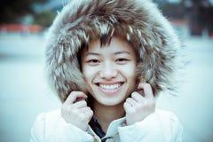 Retrato chino de la muchacha Imagen de archivo libre de regalías
