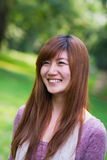 Retrato chino de la mujer Imagen de archivo libre de regalías