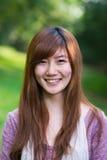 Retrato chino de la mujer Fotos de archivo libres de regalías