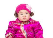 Retrato chino del bebé Foto de archivo