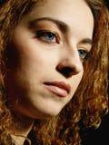Retrato clássico 2 da mulher Fotografia de Stock