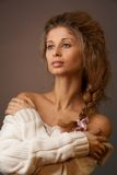 Retrato clássico da beleza fotos de stock royalty free
